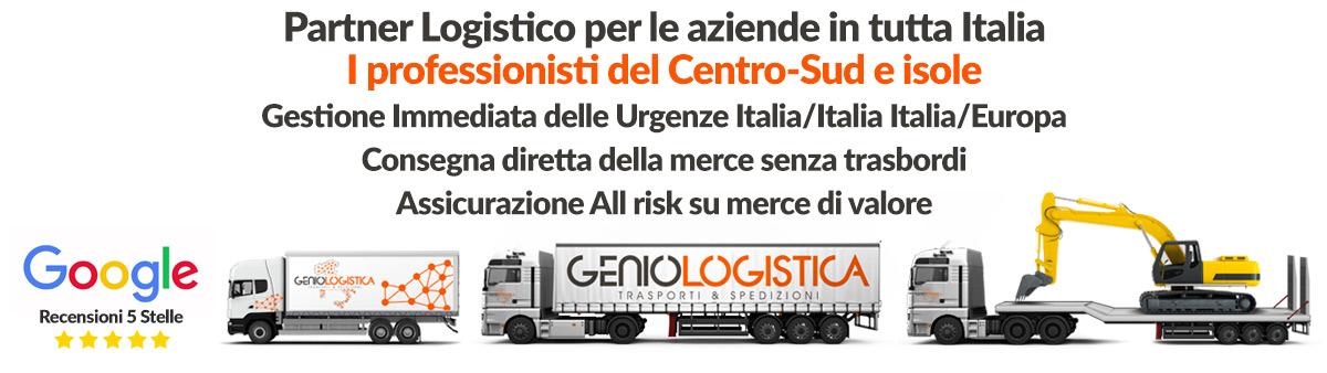 trasporto merci genio logistica